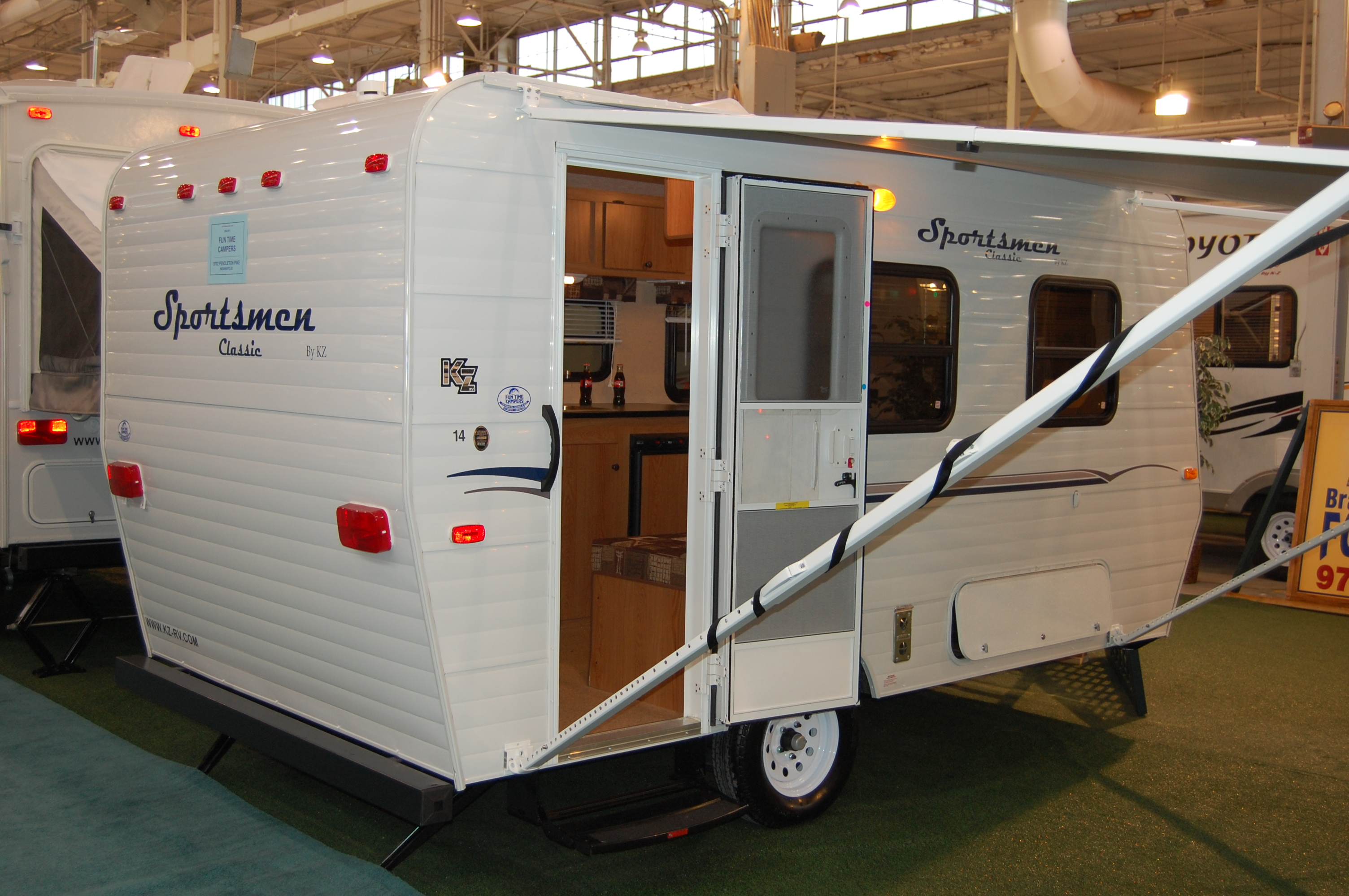 however - Small Camper Trailer