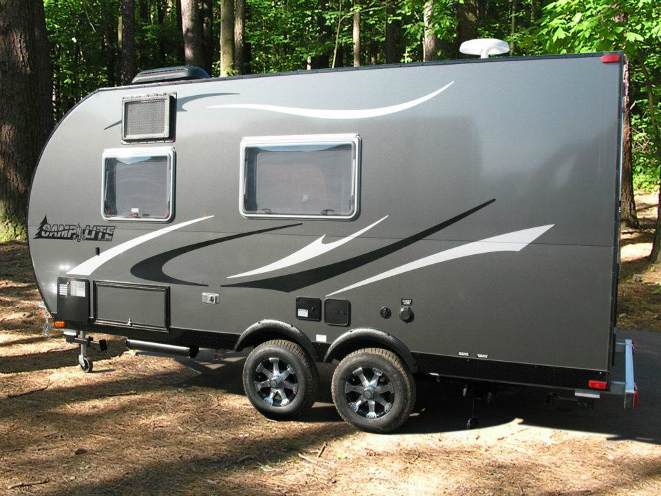 Tiny Camping Trailers lightweight travel trailers small campers scamp trailers As Well As Livin Lites Travel Trailer