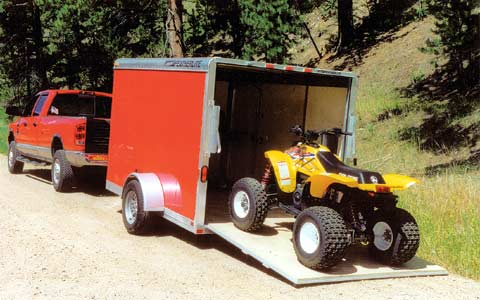 A Stealth Camper The Small Trailer Enthusiast