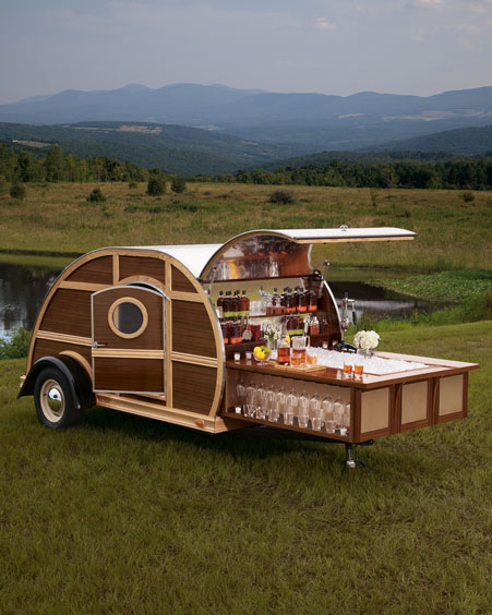 Teardrop Trailer With Bathroom: Neiman Marcus Adds $150,000 Teardrop Trailer To 2012