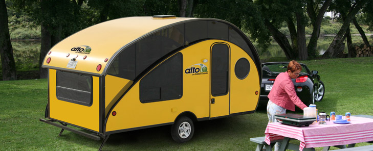 safari condo introduces fixed roof model for the alto the small trailer enthusiast. Black Bedroom Furniture Sets. Home Design Ideas