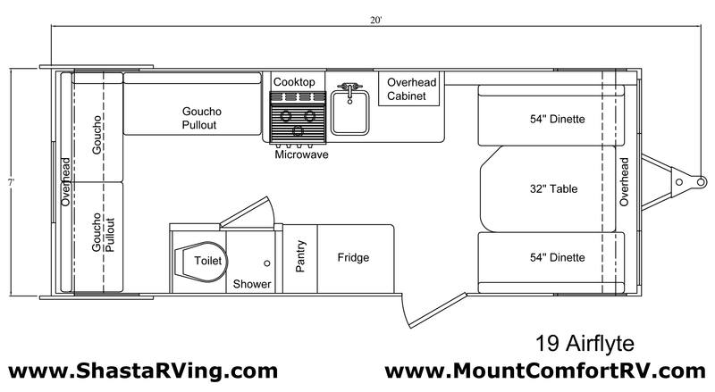 shasta airflyte floor plan bing images