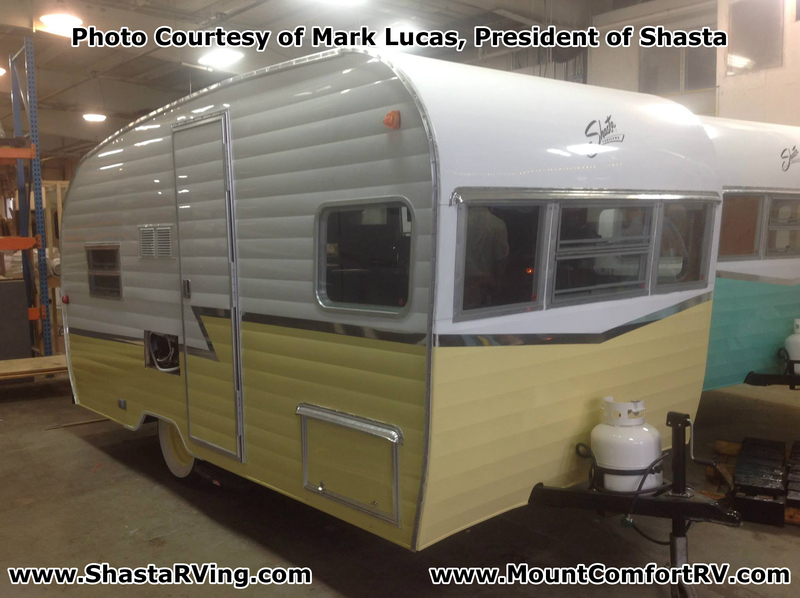 Shasta_Airflyte_2015_16_Re-Release_Mount_Comfort_RV_Butternut_Yellow_Metal_Color