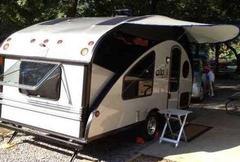 Rpod For Sale >> Tear Drop Shop Offers r-pod and Alto Awnings | The Small Trailer Enthusiast