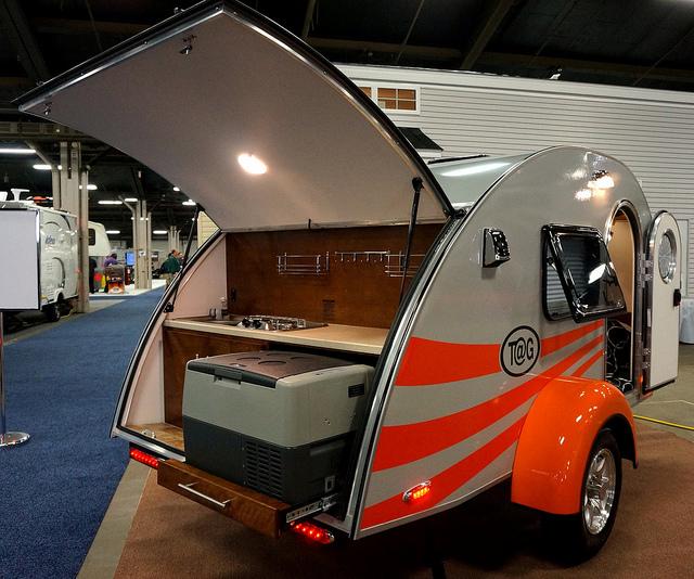 teardrop travel trailer with bathroom nucamp rv pleasant valley teardrops the small trailer