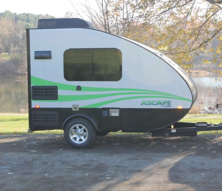the ascape is fairly unique for a trailer in its micro trailer class of which that class is rapidly expanding among manufacturers - Small Camper Trailer 2