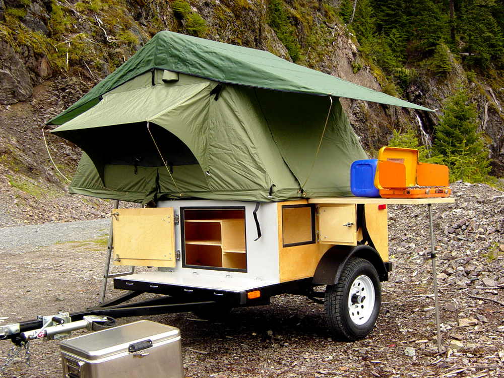 Diy Tent Camper Building The Small Trailer Enthusiast